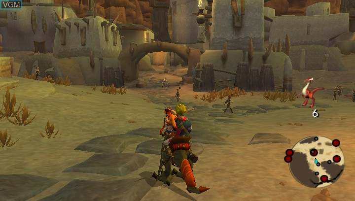 Image in-game du jeu Jak 3 HD sur Sony PS Vita