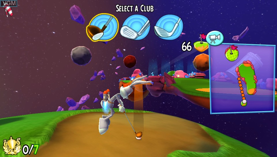 Image in-game du jeu Looney Tunes - Galactic Sports sur Sony PS Vita