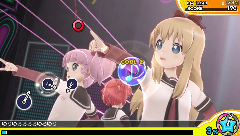 Image in-game du jeu Miracle Girls Festival sur Sony PS Vita