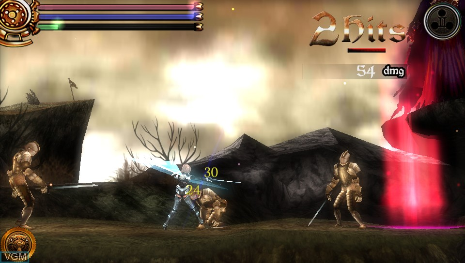 Image in-game du jeu AeternoBlade sur Sony PS Vita