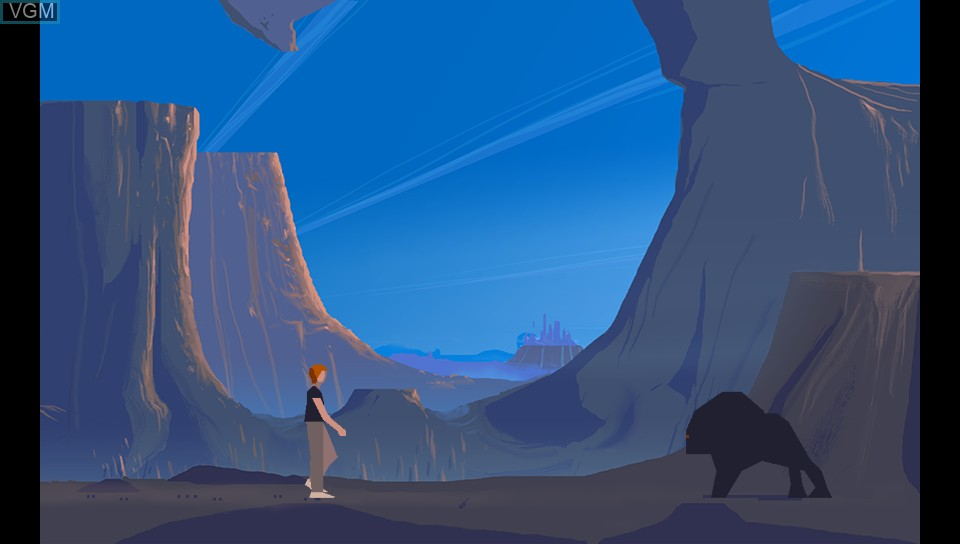 Image in-game du jeu Another World - 20th Anniversary Edition sur Sony PS Vita