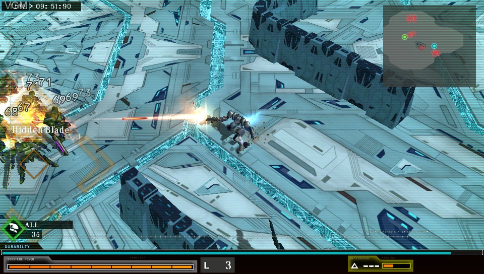 Image in-game du jeu Damascus Gear - Operation Tokyo sur Sony PS Vita