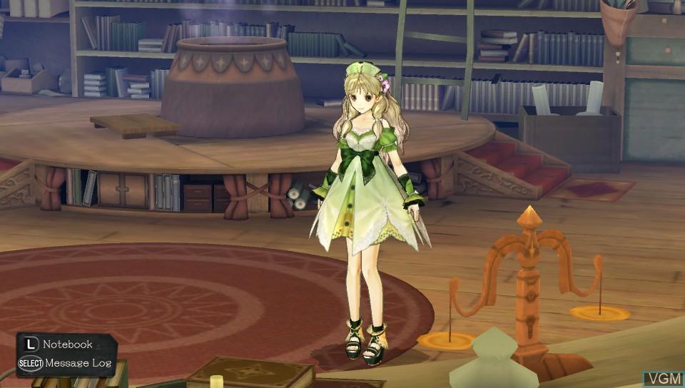 Image in-game du jeu Atelier Ayesha Plus - The Alchemist of Dusk sur Sony PS Vita