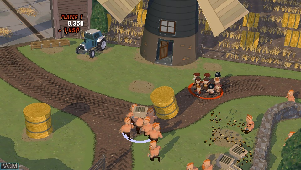 Image in-game du jeu When Vikings Attack! sur Sony PS Vita