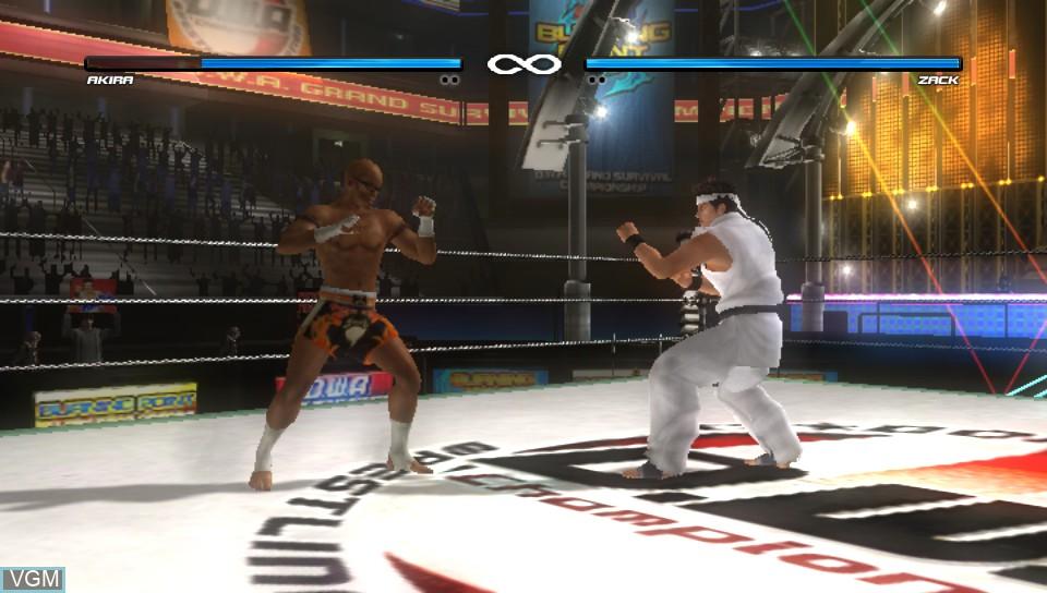 Image in-game du jeu Dead or Alive 5 Plus sur Sony PS Vita