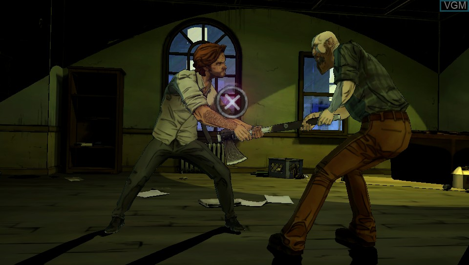 Image in-game du jeu Wolf Among Us, The sur Sony PS Vita