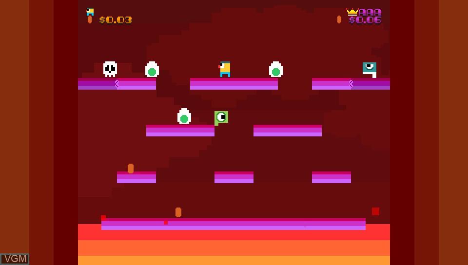Image in-game du jeu Woah Dave! sur Sony PS Vita