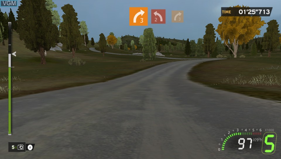 Image in-game du jeu WRC 5 - FIA World Rally Championship sur Sony PS Vita