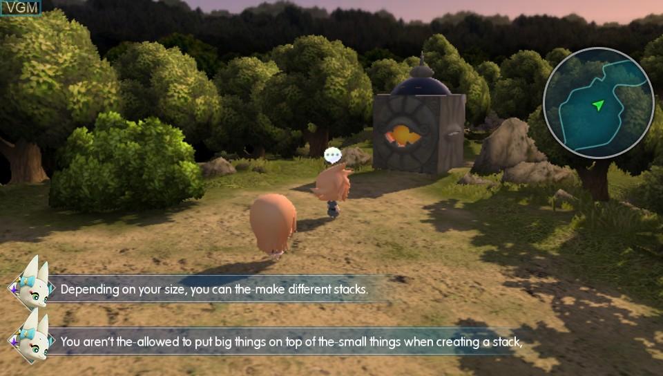 Image in-game du jeu World of Final Fantasy sur Sony PS Vita