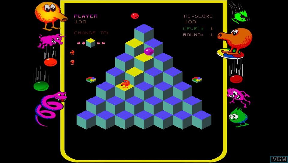 Image in-game du jeu Q*bert - Rebooted sur Sony PS Vita