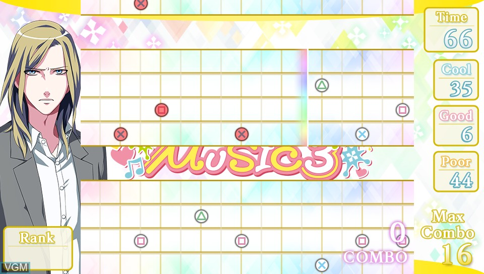 Image in-game du jeu Uta no * Prince-Sama - Music 3 sur Sony PS Vita