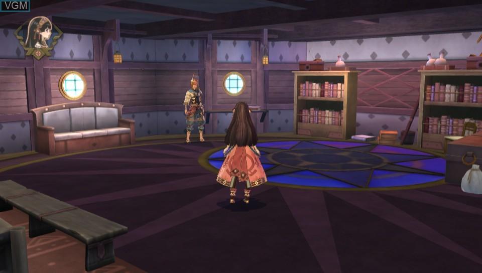 Image in-game du jeu Atelier Shallie Plus - Alchemists of the Dusk Sea sur Sony PS Vita