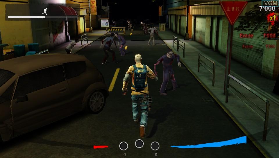 Image in-game du jeu Z-Run sur Sony PS Vita