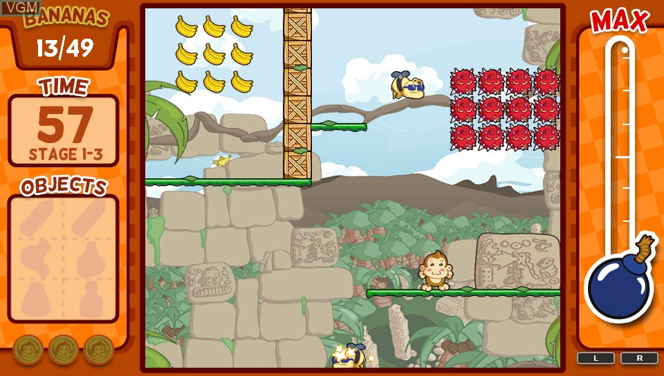 Image in-game du jeu Baboon! sur Sony PS Vita