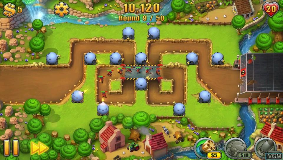 Image in-game du jeu Fieldrunners 2 sur Sony PS Vita