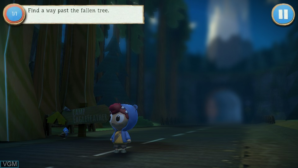 Image in-game du jeu Jacob Jones and the Bigfoot Mystery - Episode One - A Bump in the Night sur Sony PS Vita