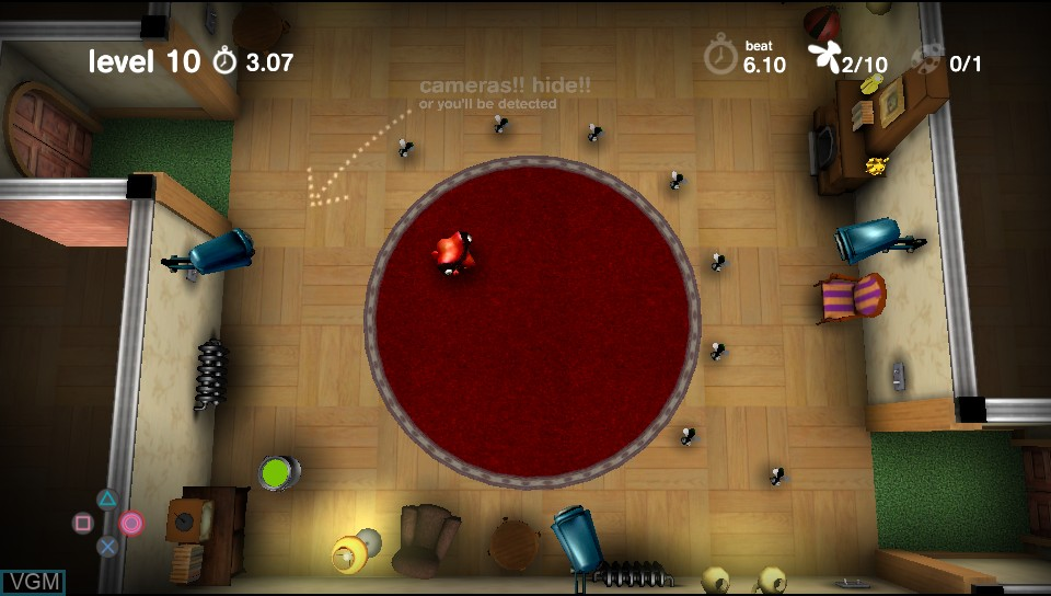Image in-game du jeu Spy Chameleon sur Sony PS Vita