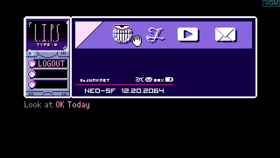 Image in-game du jeu 2064 - Read Only Memories sur Sony PS Vita