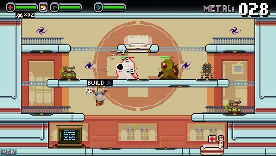 Image in-game du jeu Spacejacked sur Sony PS Vita