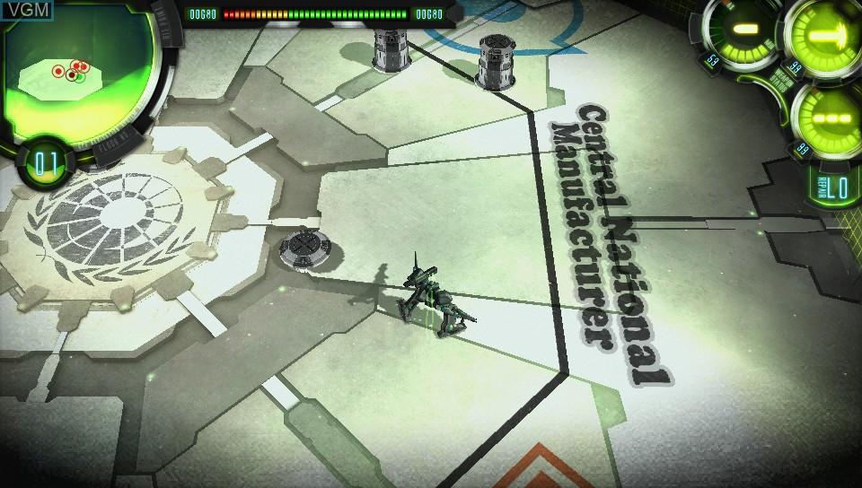 Image in-game du jeu Damascus Gear - Operation Osaka sur Sony PS Vita