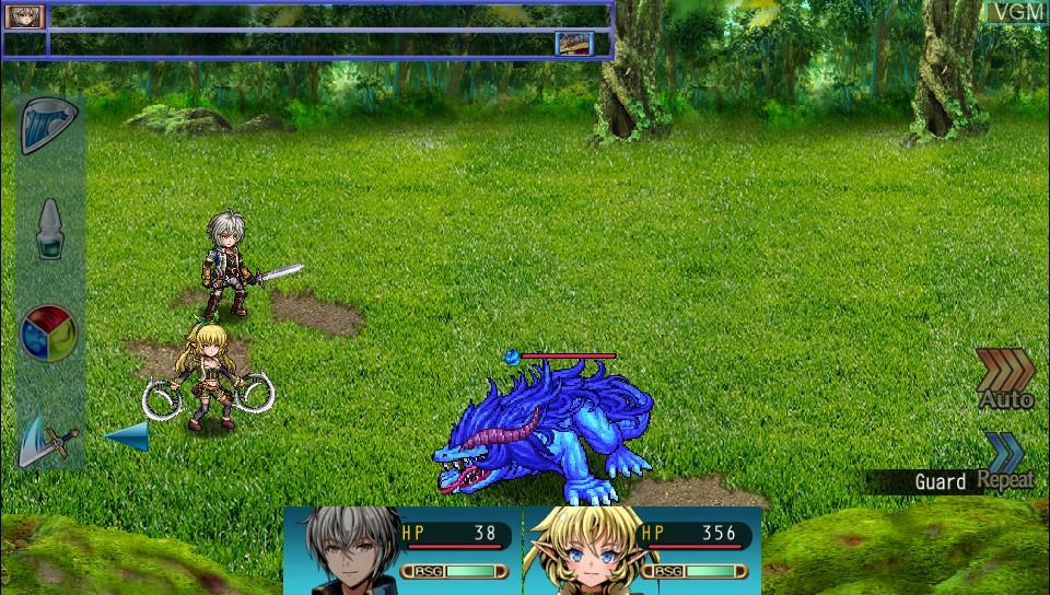Image in-game du jeu Fernz Gate sur Sony PS Vita