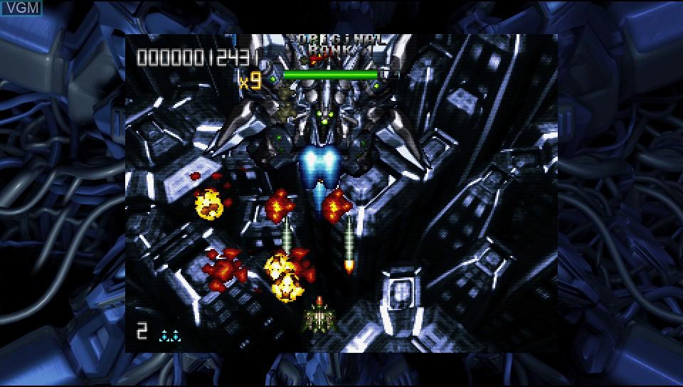 Image in-game du jeu Fast Striker sur Sony PS Vita