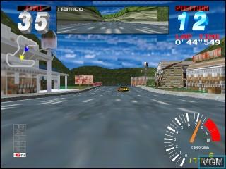 Image in-game du jeu Ridge Racer 2 sur Vivanonno