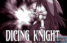 Image de l'ecran titre du jeu Dicing Knight Period sur Bandai WonderSwan