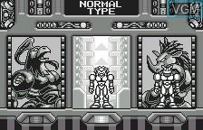 Image du menu du jeu Buffers Evolution sur Bandai WonderSwan