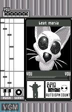 beat mania for WonderSwan