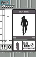 Image in-game du jeu Beat Mania sur Bandai WonderSwan