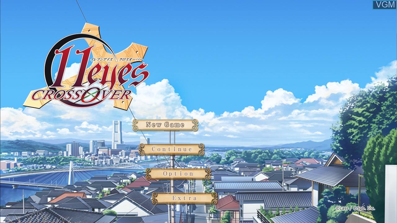Image de l'ecran titre du jeu 11 Eyes - CrossOver sur Microsoft Xbox 360