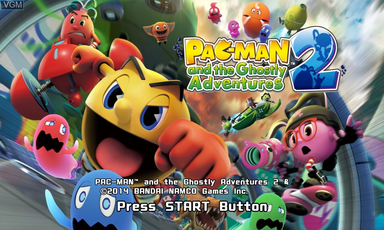 Image de l'ecran titre du jeu Pac-Man and the Ghostly Adventures 2 sur Microsoft Xbox 360