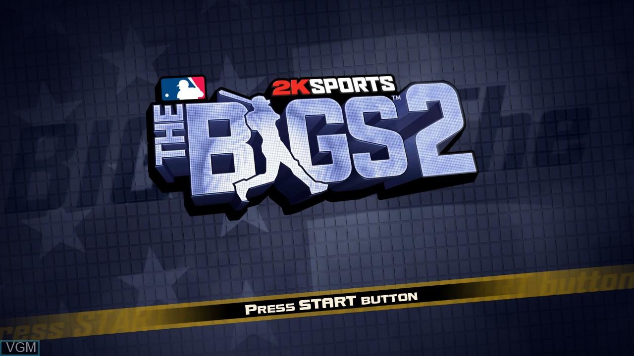 Image de l'ecran titre du jeu Bigs 2, The sur Microsoft Xbox 360