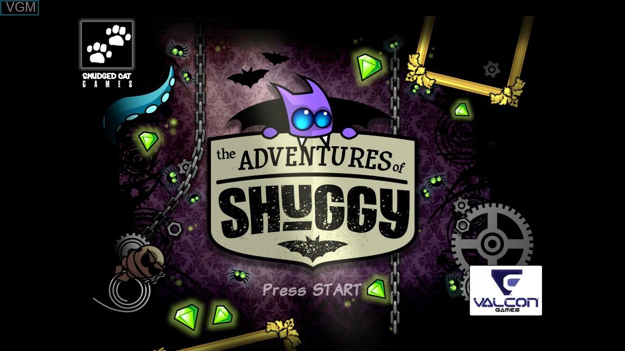 Image de l'ecran titre du jeu Adventures of Shuggy, The sur Microsoft Xbox 360