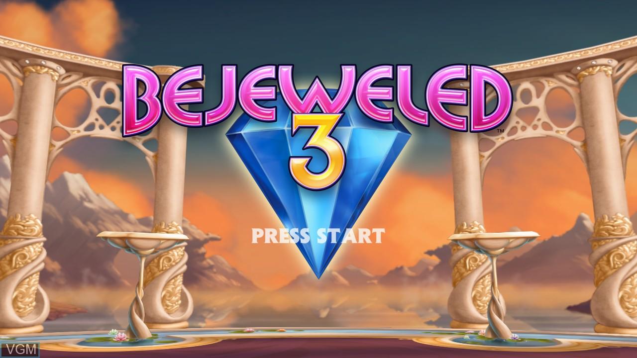 Image de l'ecran titre du jeu Bejeweled 3 sur Microsoft Xbox 360