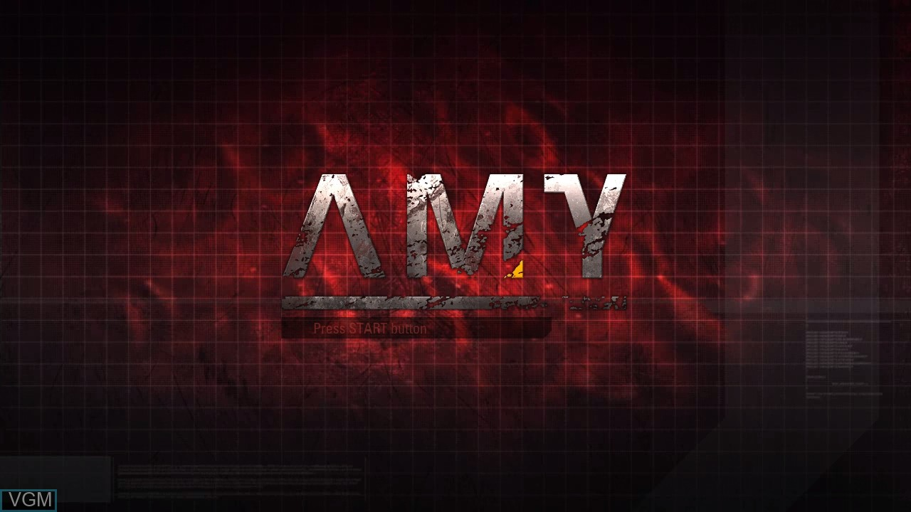 Image de l'ecran titre du jeu AMY sur Microsoft Xbox 360