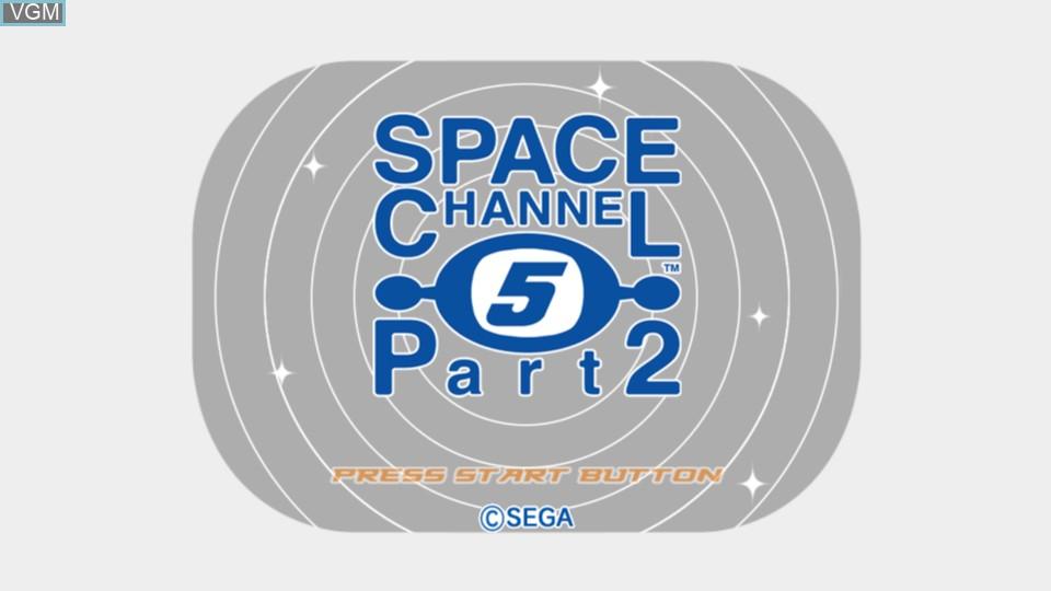 Image de l'ecran titre du jeu Space Channel 5 Part 2 sur Microsoft Xbox 360