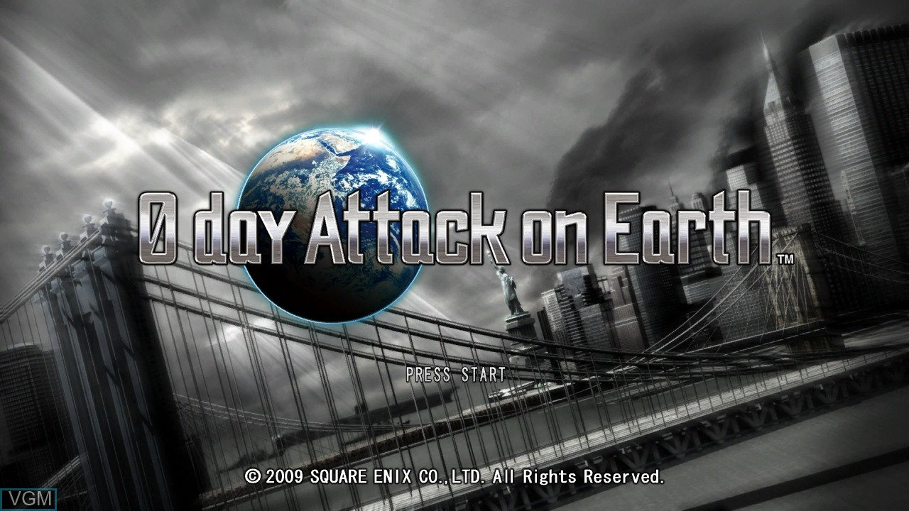 Image de l'ecran titre du jeu 0 Day Attack on Earth sur Microsoft Xbox 360