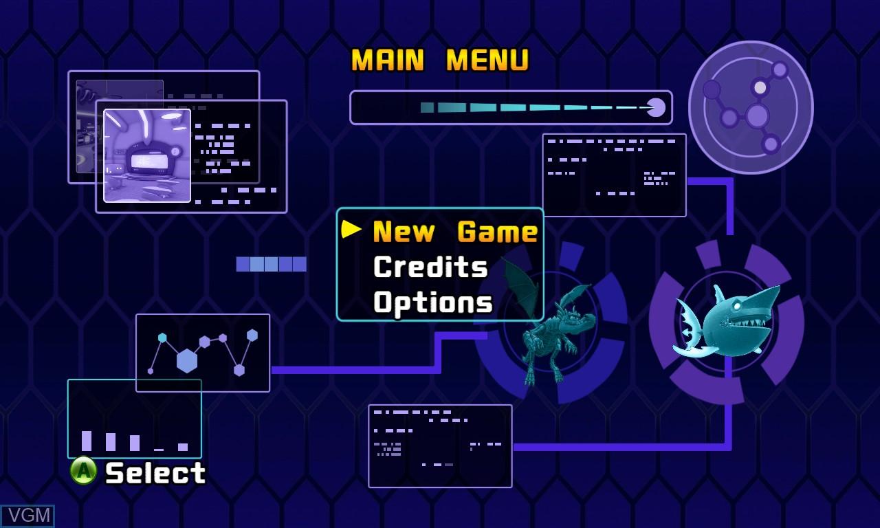 Image du menu du jeu Pac-Man and the Ghostly Adventures 2 sur Microsoft Xbox 360