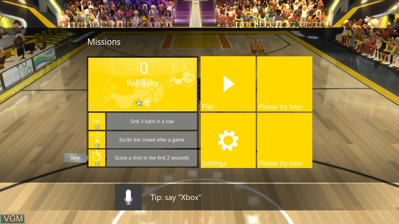 Image du menu du jeu 3 Point Contest sur Microsoft Xbox 360