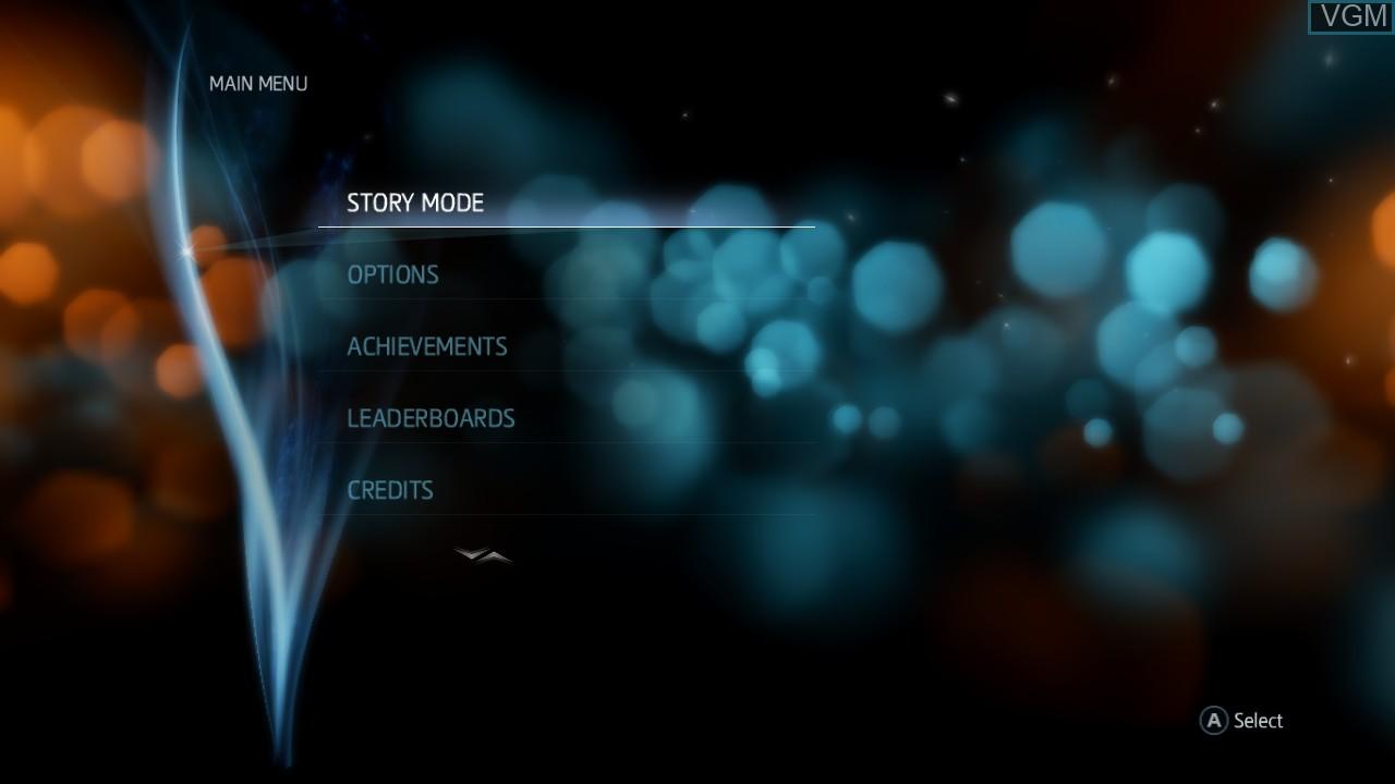 Image du menu du jeu Assassin's Creed Liberation HD sur Microsoft Xbox 360