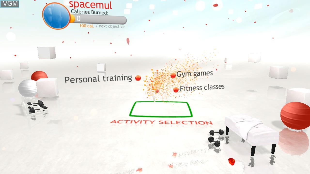 Image du menu du jeu Your Shape - Fitness Evolved sur Microsoft Xbox 360