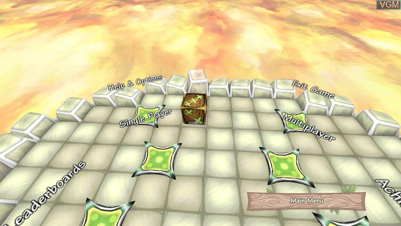 Image du menu du jeu Voodoo Dice sur Microsoft Xbox 360