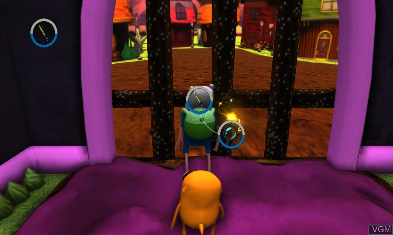 Image in-game du jeu Adventure Time - Finn and Jake Investigations sur Microsoft Xbox 360
