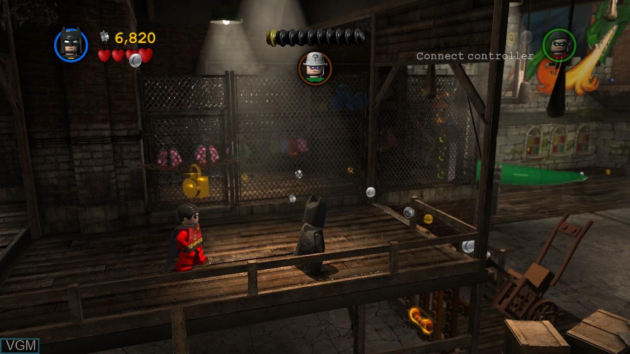 Image in-game du jeu LEGO Batman 2 - DC Super Heroes sur Microsoft Xbox 360