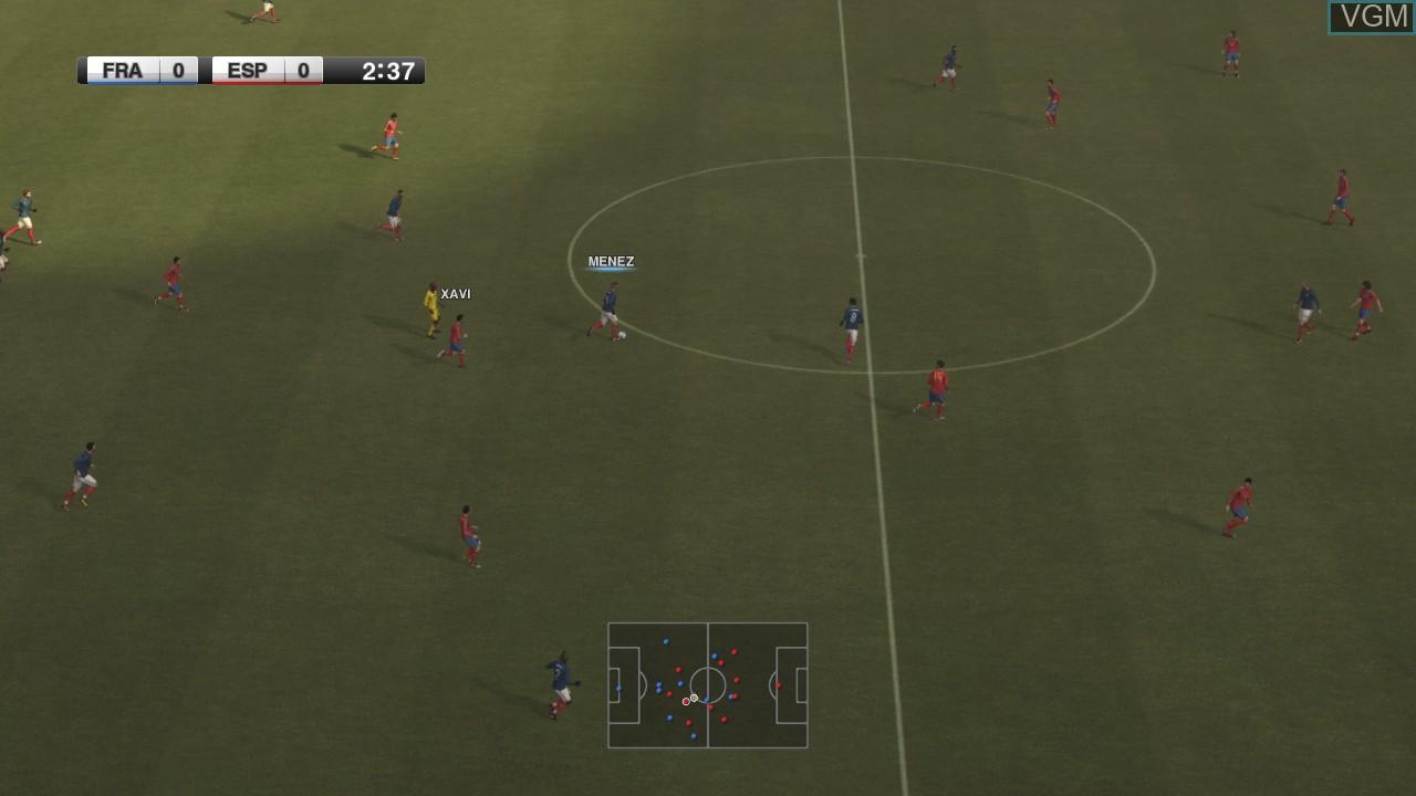 Image in-game du jeu Pro Evolution Soccer 2012 sur Microsoft Xbox 360