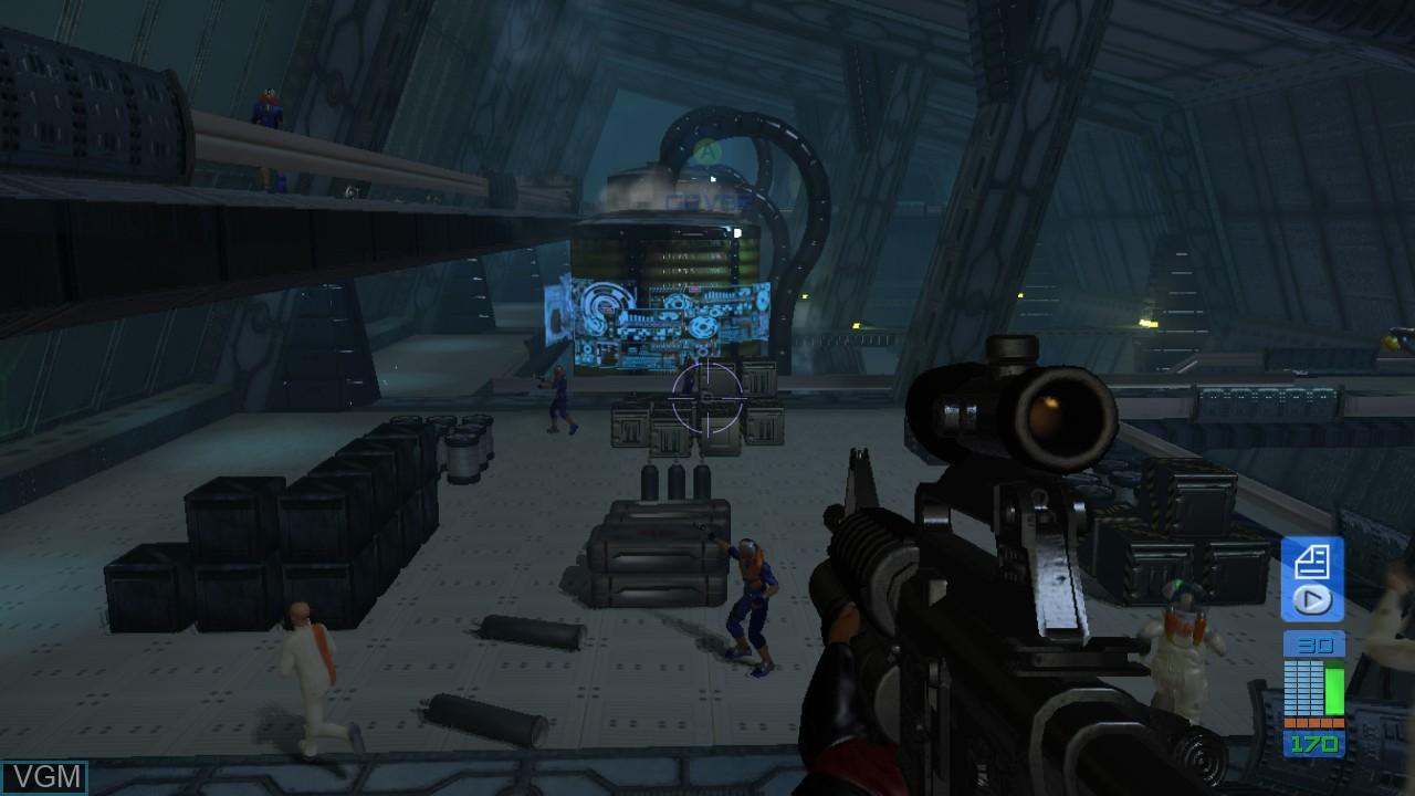 Image in-game du jeu Perfect Dark Zero sur Microsoft Xbox 360