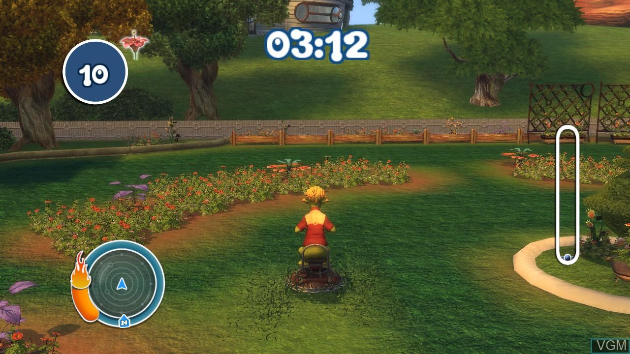 Image in-game du jeu Planet 51 sur Microsoft Xbox 360