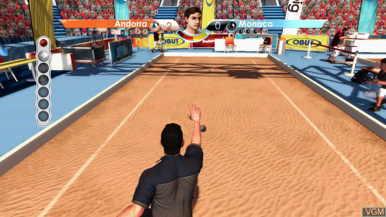 Image in-game du jeu Obut Petanque 2 sur Microsoft Xbox 360